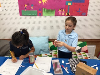 Second Grade Participates in Global Maker Day
