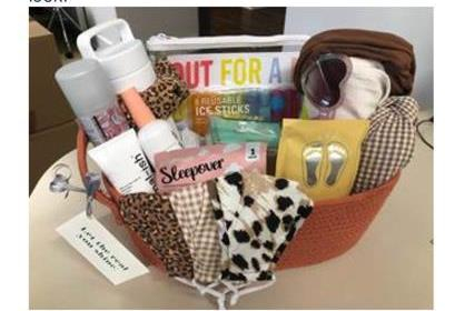 AERIE Spring Break Ready Gift Basket and Gift Card
