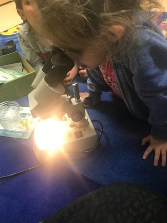 Early Childhood Explores Snowflakes Through Makerspace