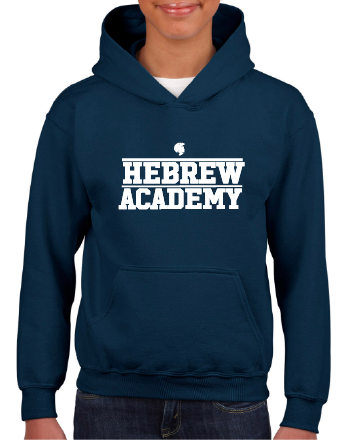 Youth Navy Pullover Hoodie