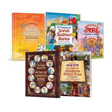 Artscroll Set of (5) Books for Kids