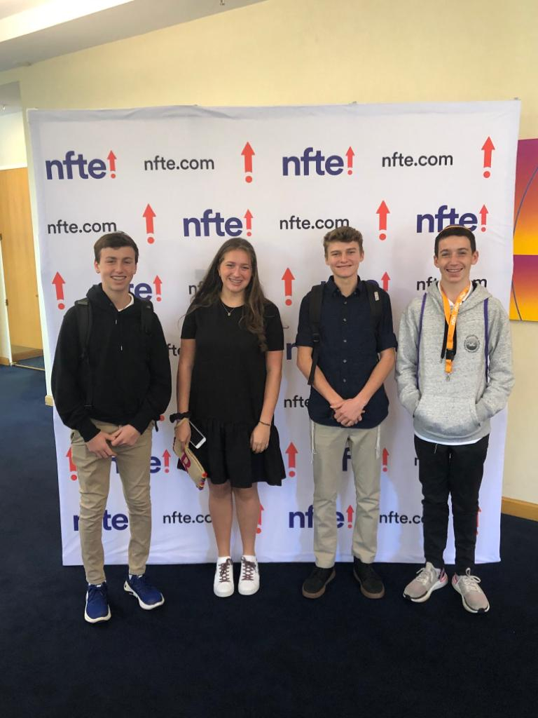 High School Students Attend NFTE Innovation Summit and One Student Makes Top 10