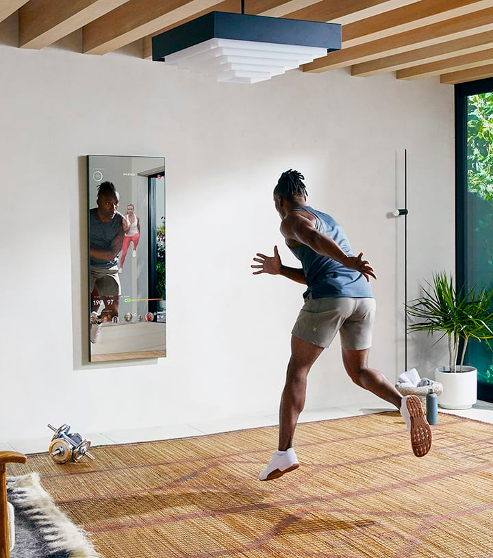 The Mirror: The Nearly Invisible Home Gym