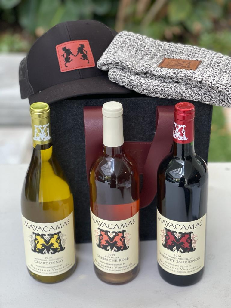 (3) Bottles of Kosher Mayacamas Wine and Decanter PLUS Tour of the new tasting room in Napa