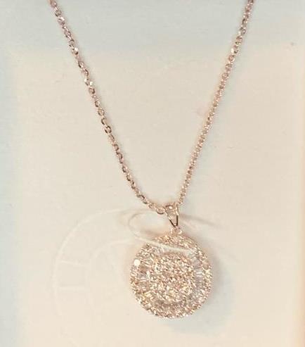 Jeweler's Choice 18k Diamond Pendant