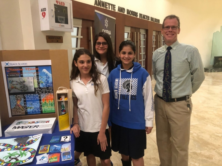 Eighth Graders Win Cadena Initiative Competition for the Second Year in a Row
