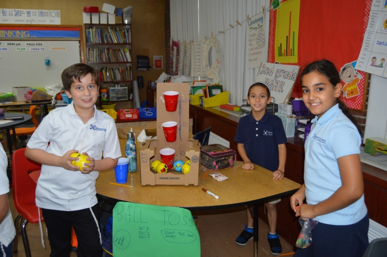 Second Grade Uses STEAM To Gear Up for Purim