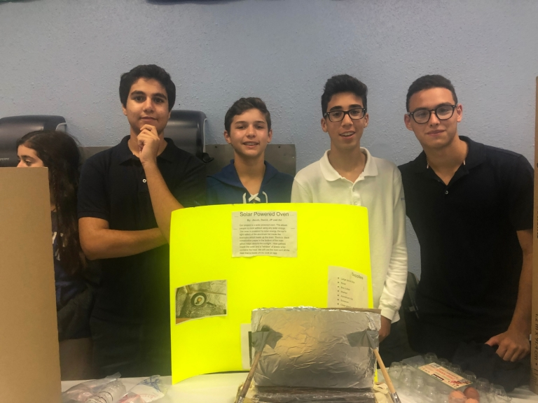 High School Science Department Hosts First Ever Invention Convention