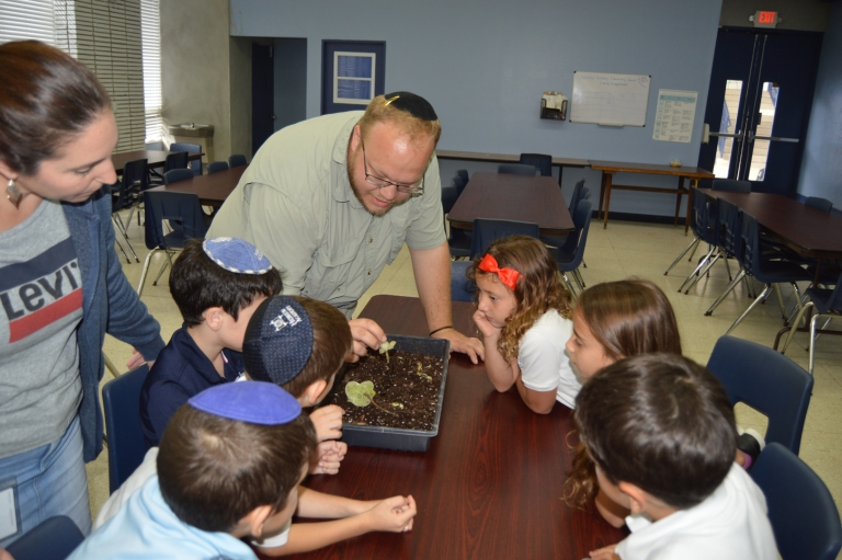 First Grade Explores Invasive Plants with USDA Researcher