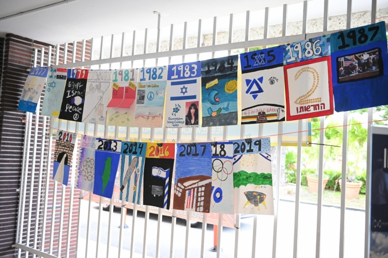 Middle School Participates in Special Yom Ha'Atzmaut Project