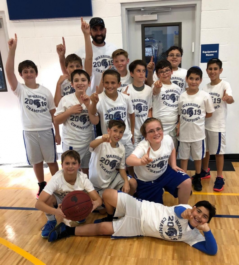 5th Grade Boys Basketball Win Back to Back Championships