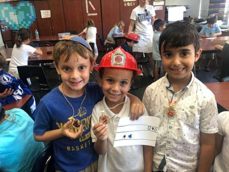 Lag Ba'Omer Fun in the Elementary Division