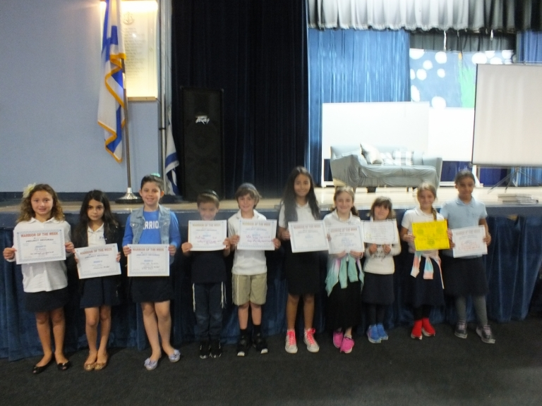 Warriors of the Week: April 29 - May 3, 2019