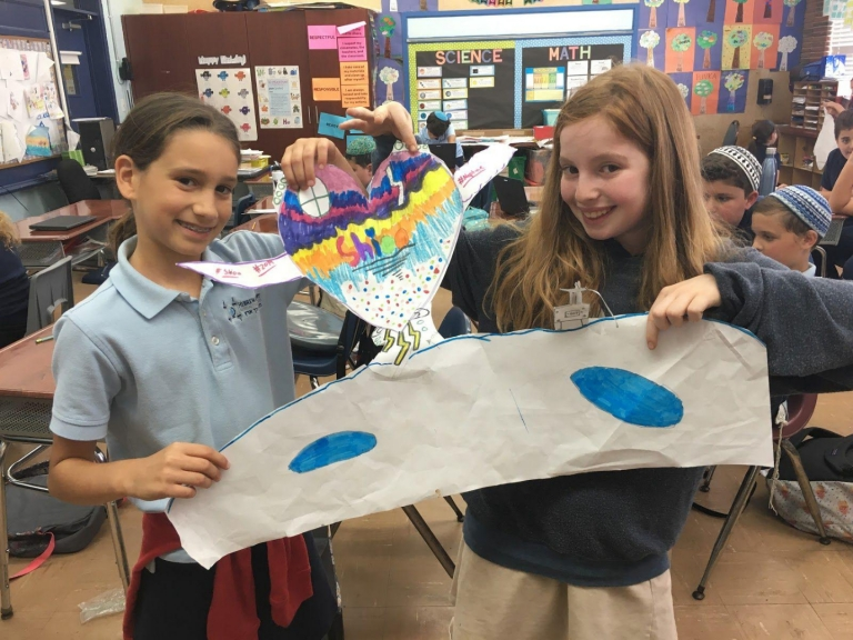 Fourth Grade Designs Spacecrafts As Part of Aerospace Engineering Unit